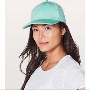 NWT Lululemon Baller Hat in Turquoise